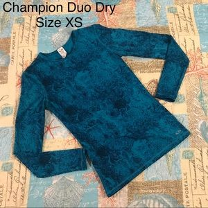 Champion Duo Dry Splatter Compression Top Size XS